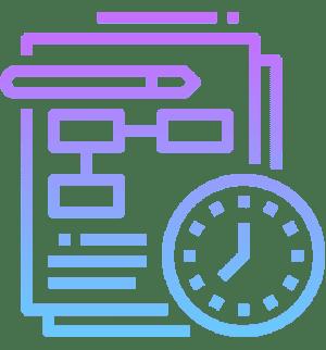 Значок адекватные сроки на создание сайтов