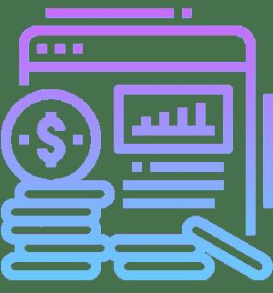 Значок поэтапная оплата стоимости сайта